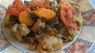 Тушеная рыба с овощами Рыба хек с овощами Тушим хек с овощами в кастрюле