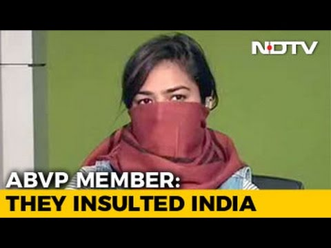 Does Standing For India's Unity Make Me A Goon, Asks ABVP Member Who Alleged Assault