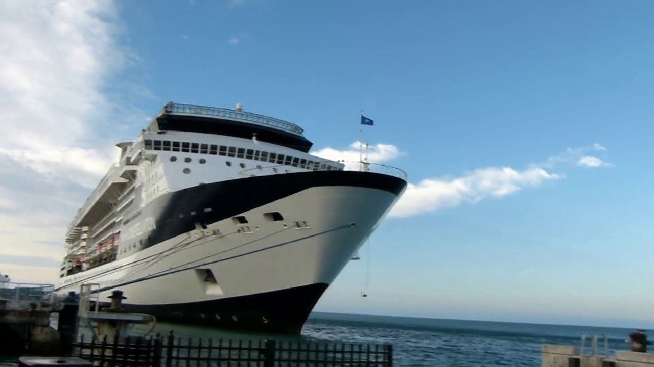 What Cruise Ship Visitors See When Arriving Into Key West YouTube - Cruise ships key west