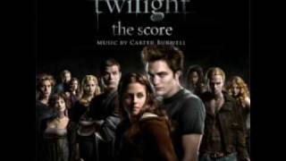 Twilight Score: Edward at Her Bed