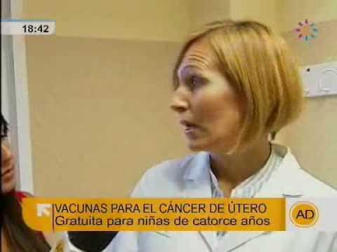 """Vacuna cáncer de cuello de útero, en """"Andalucia Directo"""""""