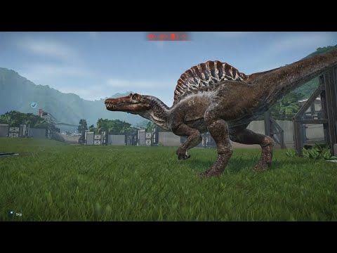 SPINOSAURUS! Jurassic World Evolution Gameplay |