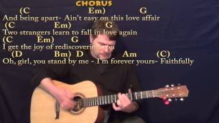 Faithfully (Journey) Strum Guitar Cover Lesson with Chords/Lyrics- Capo 4th Fret