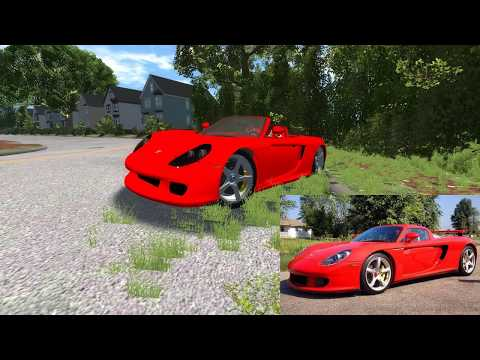 BeamNG.Drive - Paul Walker Crash Simulation + TRIBUTE!
