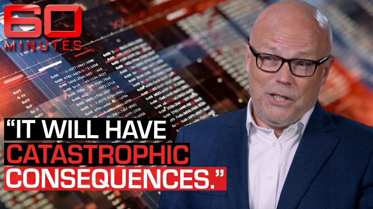 Cyber security expert on why Australia is at a great security risk | 60 Minutes Australia