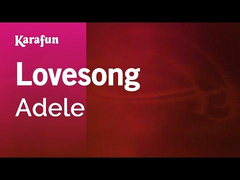 Karaoke Lovesong - Adele *