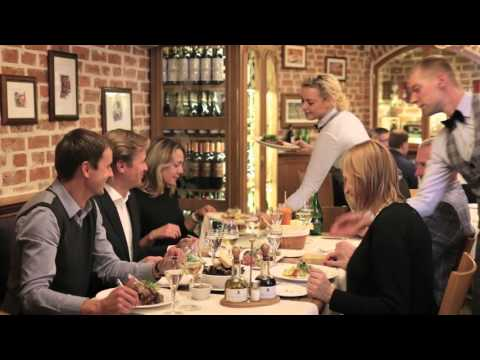 Rossini restaurant promo video