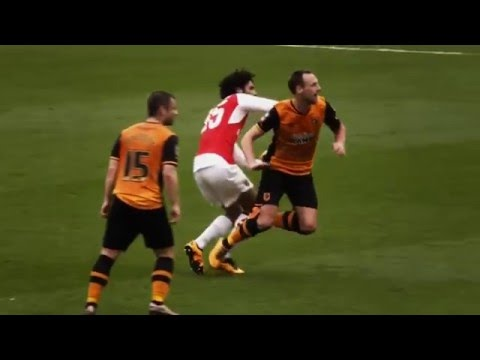 Mohamed ElNeny & Danny Welbeck vs Hull City