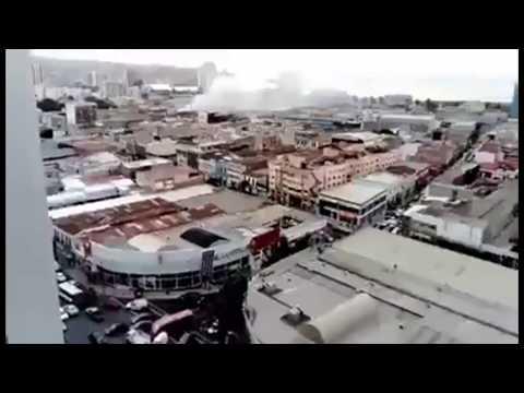 Terremoto 7.1 y Alerta de Tsunami en Valparaíso, Chile 24 de Abril 2017 – Tsunami Alert in Chile