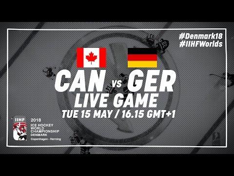Canada - Germany | Full Game | 2018 IIHF Ice Hockey World Championship