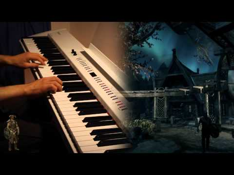 Skyrim - From Past to Present (Piano) [Sheet Music]