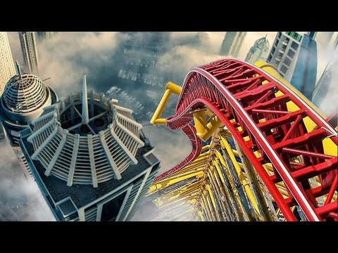 Thumbnail: Top 5 MOST INSANE BANNED Roller Coasters YOU CAN'T GO ON ANYMORE!