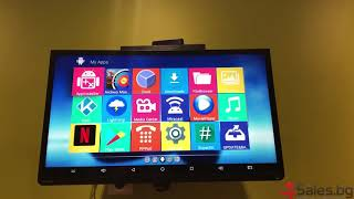 Андроїд Смарт тв бокс ( android tv box ) на ниска ціна з опція за клавіатура - 4Sales.bg
