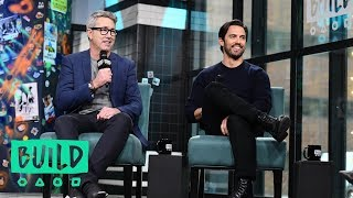 "Milo Ventimiglia & Peter Segal Chat Their Roles In ""Second Act"""