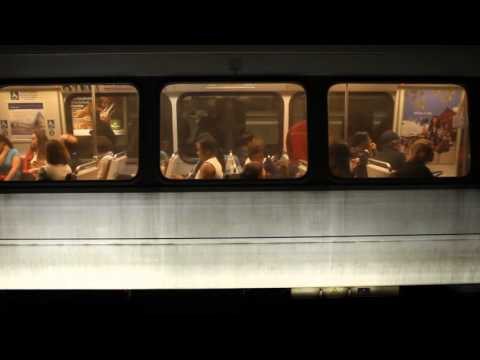 WMATA Metro Rail Silver Line train services Farragut West