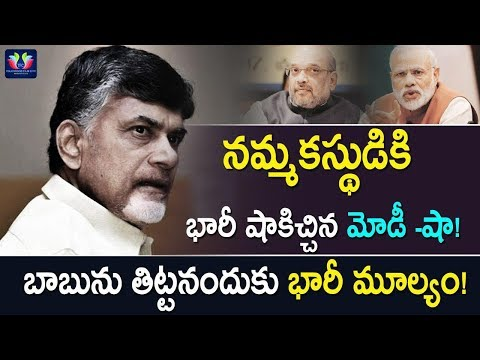 Modi-Amit Shah Gave Huge Shock To BJP Trustee || Andhra Pradesh Politics || TFC News