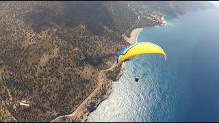 Полёт на параплане в Олуденизе. Турция, 2014. Очень красиво. Paragliding Oludeniz 2014