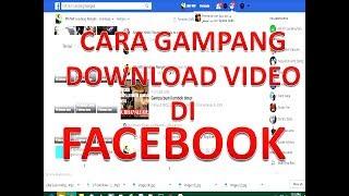 CARA DOWNLOAD VIDE DI FACEBOOK + Lagu santik siti badriah