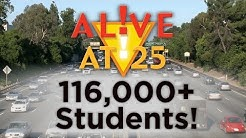 2016 Alive at 25 Banquet Video