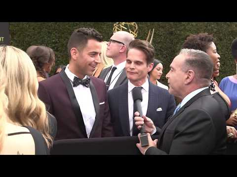 Greg Rikaart Interview - DAYS & Y&R - 45th Annual Daytime Emmys Red Carpet