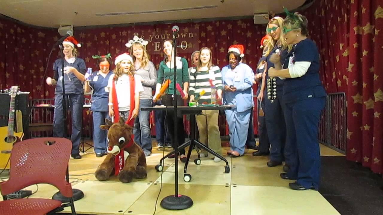 Mia and POTC Nurses 12 Days of (Treatment) Christmas - YouTube