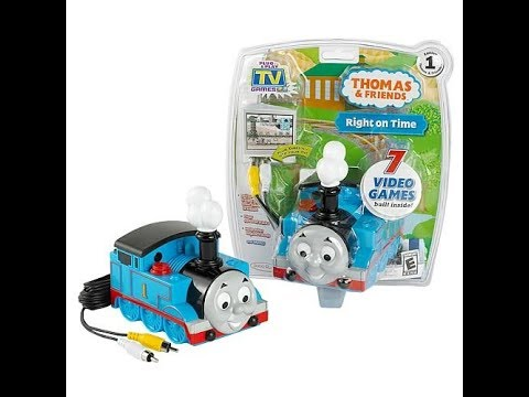Plug N Play Games: Thomas & Friends Right On Time