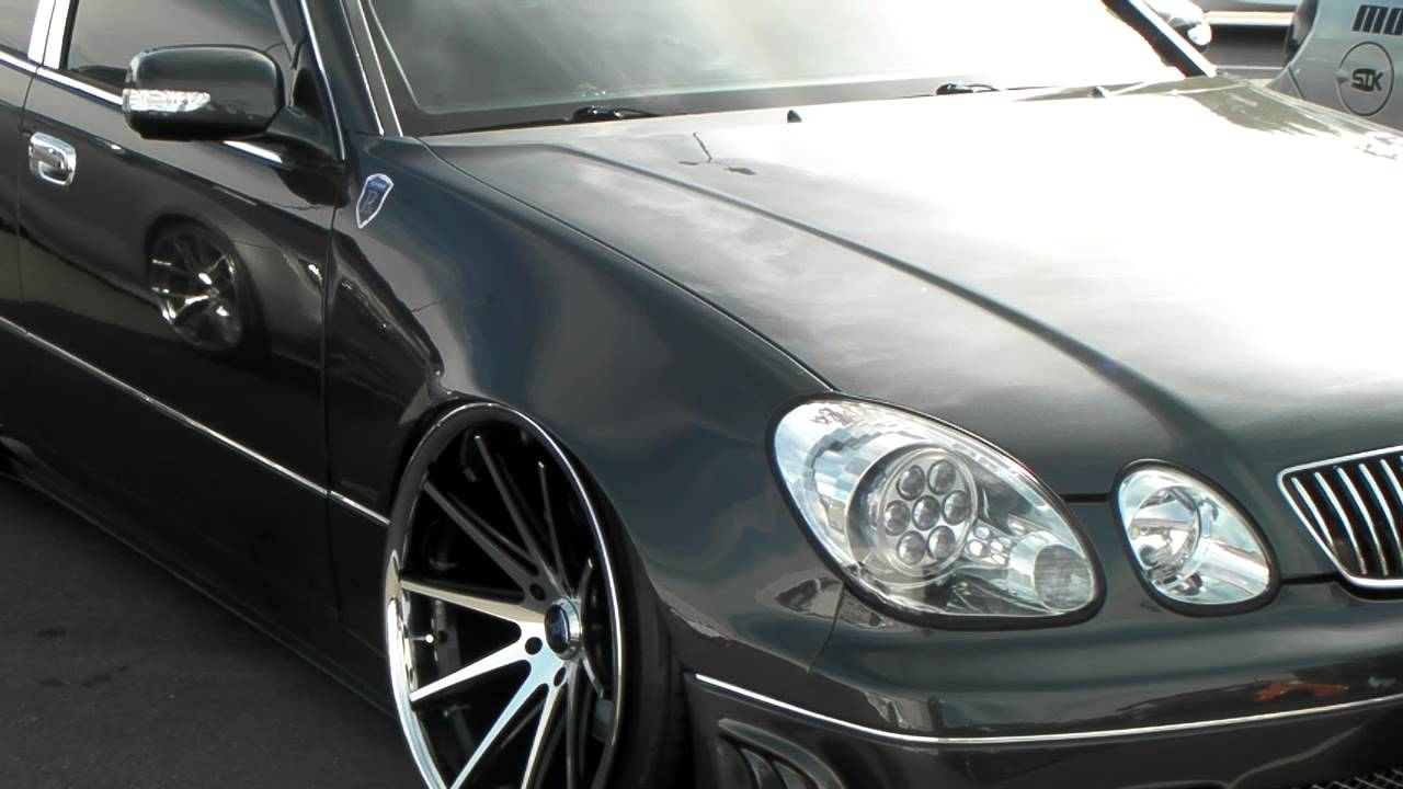 dubsandtires 22'' staggered rohana rc-10 machined wheels 2005