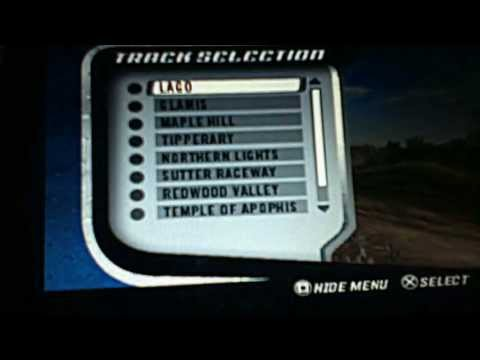 ( PSP ) Mx Vs Atv Unlehshed On The Edge With Cheat Code
