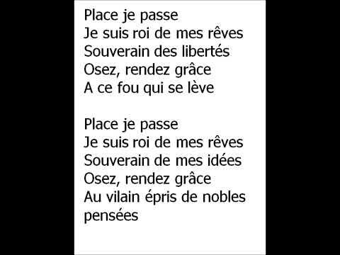 lyrics place je passe