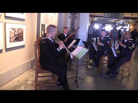 Navy Band South West from San Diego at the Ferry Building3 10 6 2017