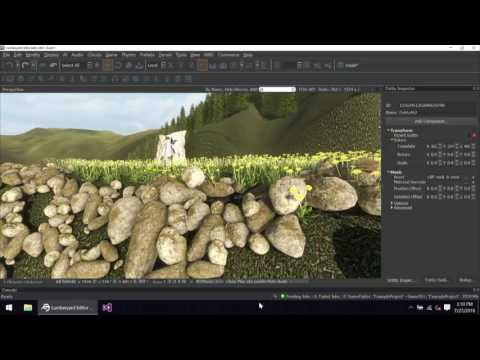 Lumberyard at SIGGRAPH 2016 - Kevin Ashman Lumberyard Engine Demo