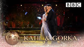 Katie Piper & Gorka Marquez dance the Waltz to When We Were Young - BBC Strictly 2018