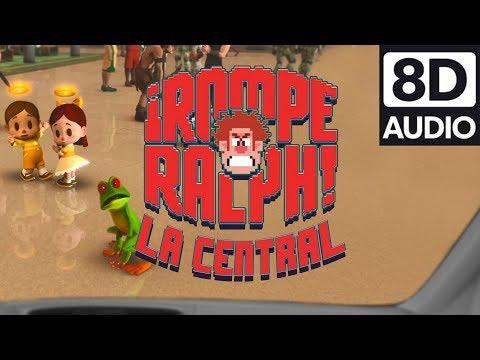 El primer relato en 8D | La Central de Juegos | Ralph rompe Internet