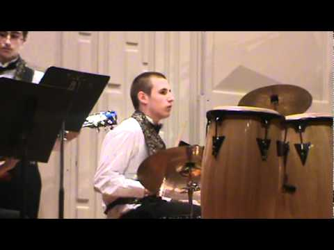 """Mercy Mercy Mercy"" performed by Colin Rapp in The Spring Ford Jazz Band on March 23, 2012"