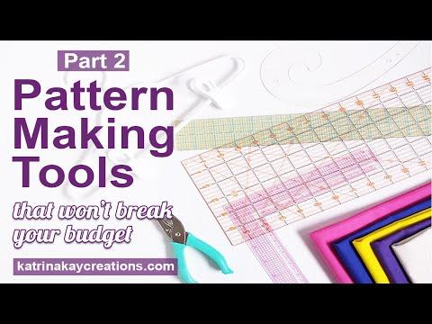 Patternmaking Tools That Won't Break Your Budget, Part 2