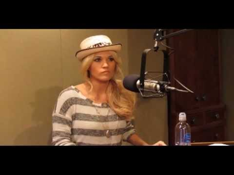 Carrie Underwood - Blown Away Release Day Interview