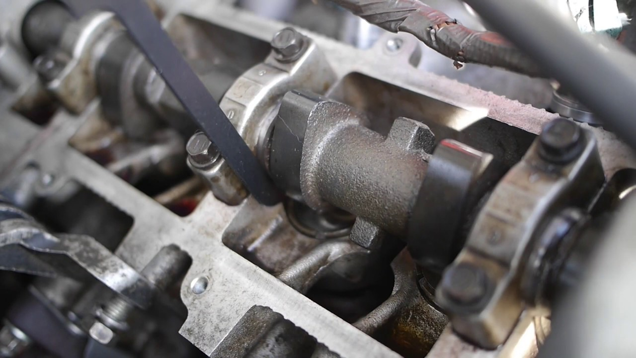 How to adjust the valve clearance 81