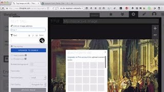 Créer des images interactives en ligne avec Thinglink