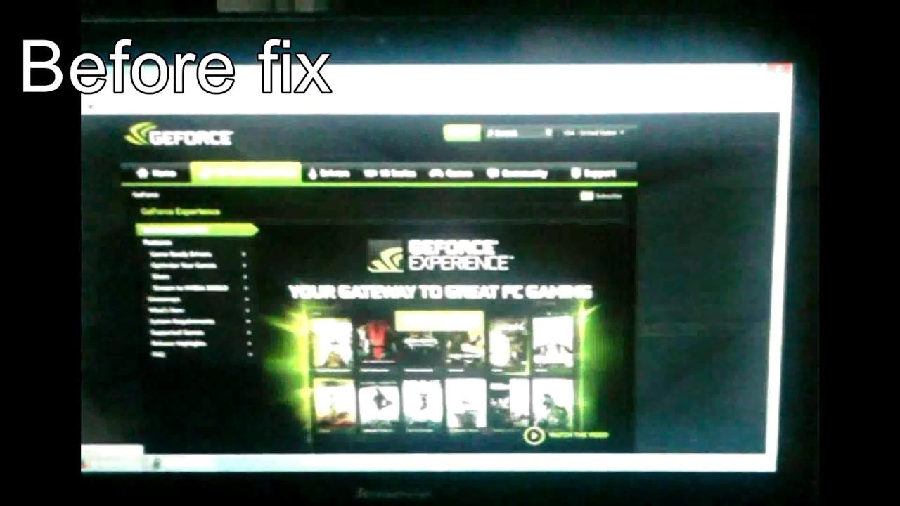 How to fix lenovo y50 screen flickering