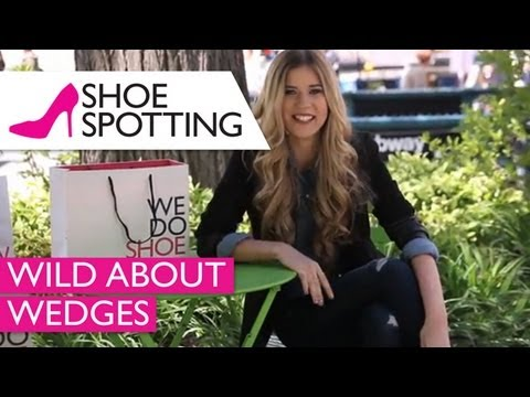 Cute & Comfortable Spring & Summer Wedges | Shoe Spotting | Ep. 1
