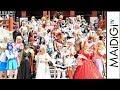 猛暑の名古屋・大須に世界のコスプレーヤーが集結 暑さ対策も 「世界コスプレサミット2018」パレード
