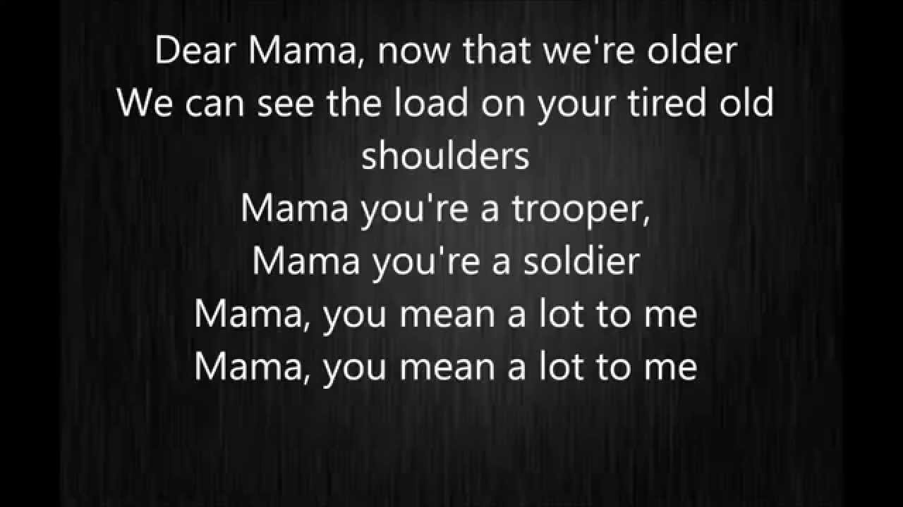 Johnny Cash And The Carter Sisters A Song To Mama Lyrics Dear