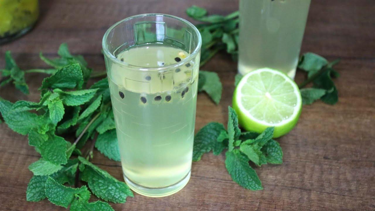 Лимонад лайм-маракуйя