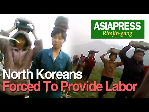[N.Korea Video Report] North Koreans Forced To Provide Labor