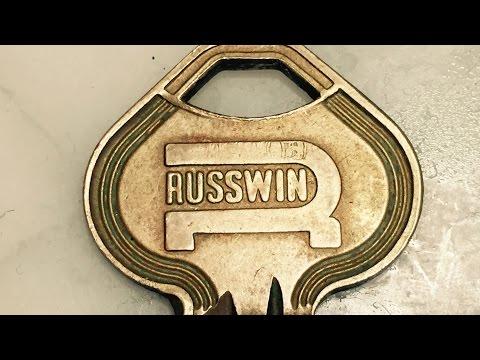 Взлом отмычками --   Russwin KIK Cylinder - Pick & Gut (Pick & Gut video of a Russwin KIK cylinder that I got in a trade from Jeff Moss.)