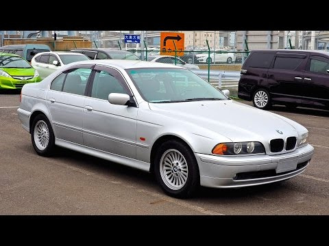 2001 bmw 525i e39 japan auction purchase review. Black Bedroom Furniture Sets. Home Design Ideas