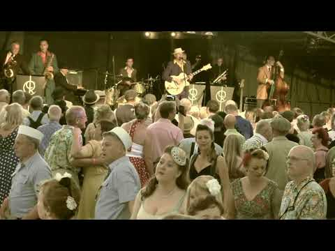 The Revolutionaires Big Band-Control Tower Stage@Twinwood Festival 2017