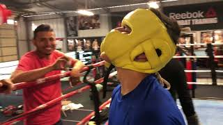 Teen Challenges Mikey Garcia For A Sparring Session Guess What Happens Next!