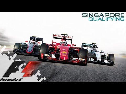 F1 2016 - SINGAPORE - Qualifying!