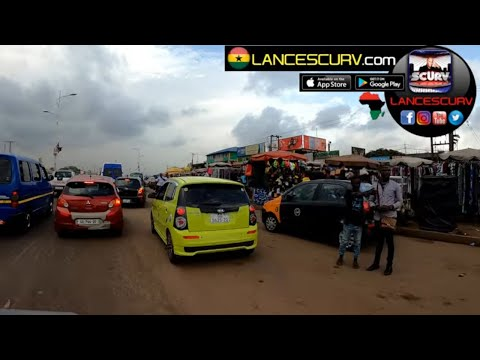 TAKE A TRIP WITH ME TO ACCRA'S AMAZING CIRCLE COMMERCE AREA! - THE LANCESCURV SHOW